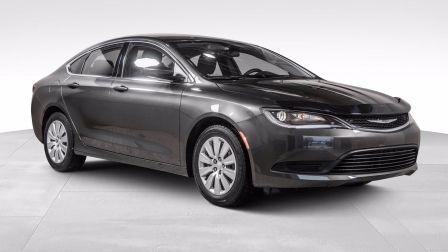 2016 Chrysler 200 4dr Sdn LX FWD AUTO AIR GROUPE ÉLECTRIQUE BAS KILO                    à Drummondville