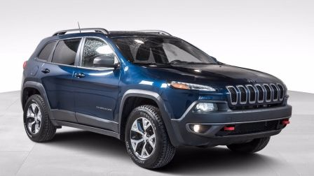 2018 Jeep Cherokee Trailhawk 4x4 CUIR BANCS CHAUFFANTS CAMERA HITCH                    à Saint-Jérôme