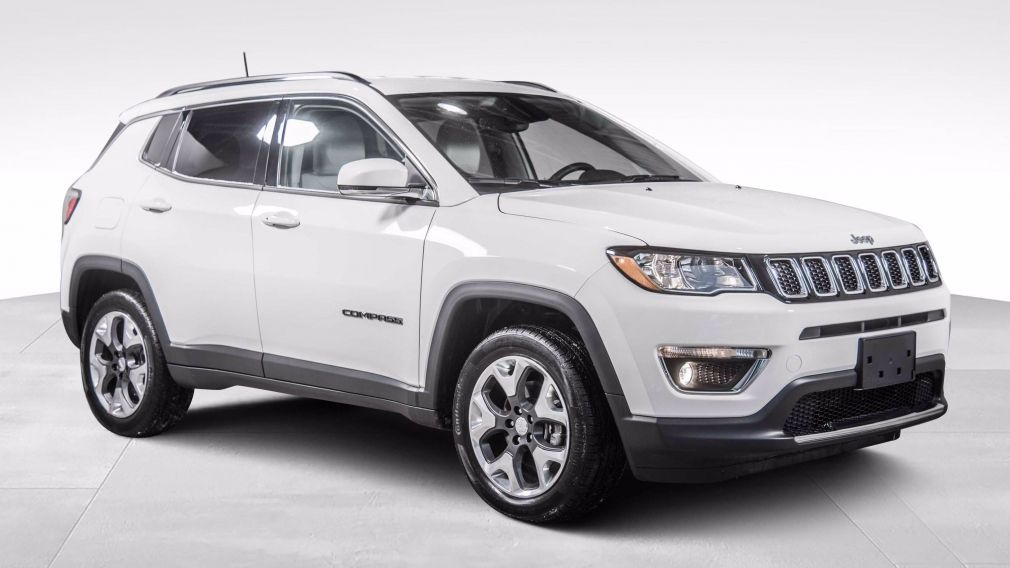 2020 Jeep Compass Limited 4X4 CUIR MAGS BLUETOOTH CAMERA #