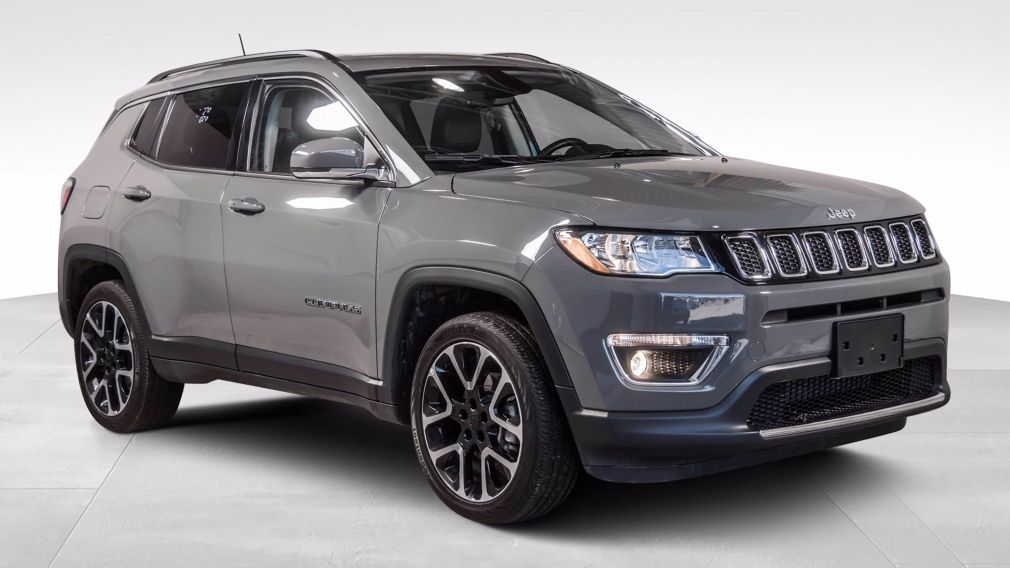 2020 Jeep Compass Limited 4X4 TOIT PANORAMIQUE CUIR NAVIGATION MAGS #
