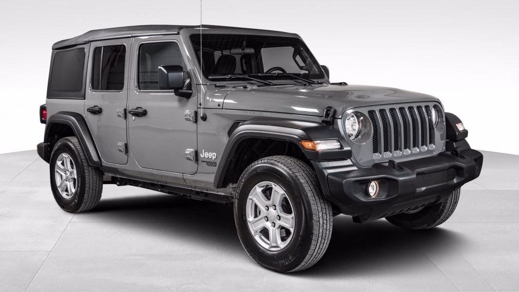 2020 Jeep Wrangler Unlimited 4X4 Sport S GROUPE TECHNO MAGS TECH #