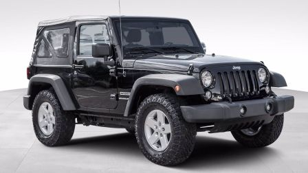 2018 Jeep Wrangler Sport 4x4                    à Saint-Jérôme