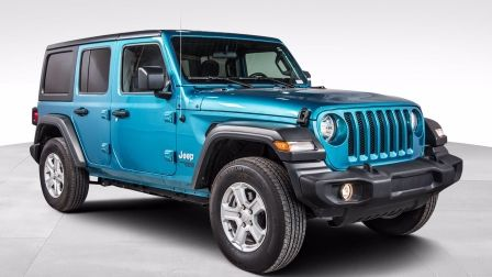 2020 Jeep Wrangler Unlimited Sport S 4X4 COLD WEATHER GROUP BLUETOOTH                    à Repentigny