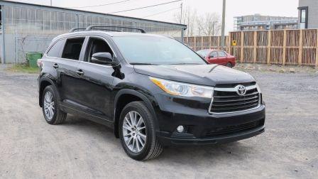2015 Toyota Highlander XLE | CUIR - TOIT OUVRANT - HAYON ÉLECTRIQUE - MAG                    à Drummondville