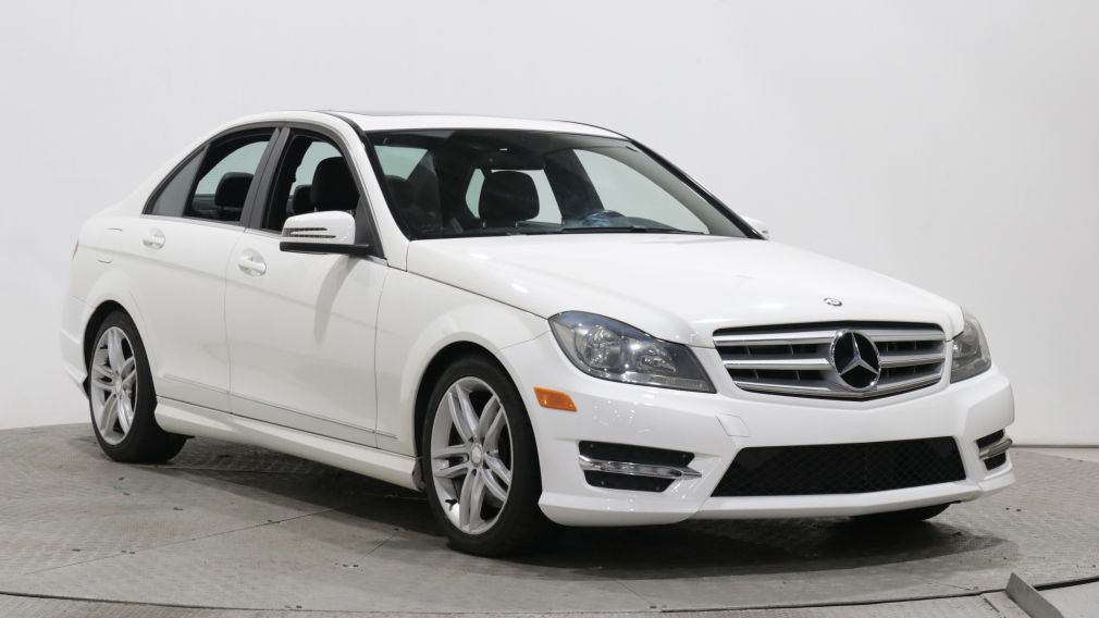 2013 Mercedes Benz C300 4MATIC AUTO A/C CUIR TOIT OUVRANT MAGS BLUETOOTH #