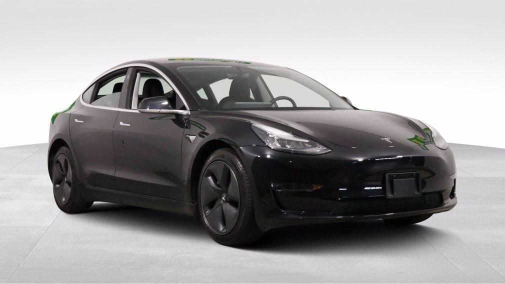 2018 Tesla Model 3 LONG RANGE BATTERY AWD CUIR TOIT PANO NAV MAGS #0