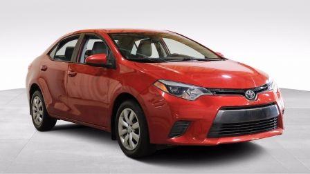2016 Toyota Corolla LE AUTO AC GR ELEC CAMERA DE RECULE BLUETOOTH                    à Drummondville