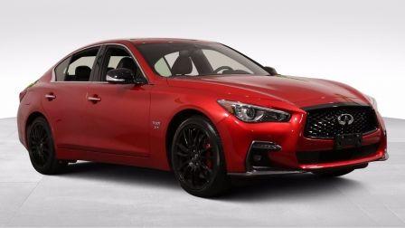 2019 Infiniti Q50 I-LINE RED SPORT AWD CUIR TOIT NAV MAGS CAM 360                    à Longueuil