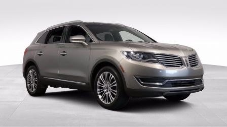 2016 Lincoln MKX Reserve AWD CUIR TOIT PANO A/C MAGS NAV CAM RECUL                    à Drummondville
