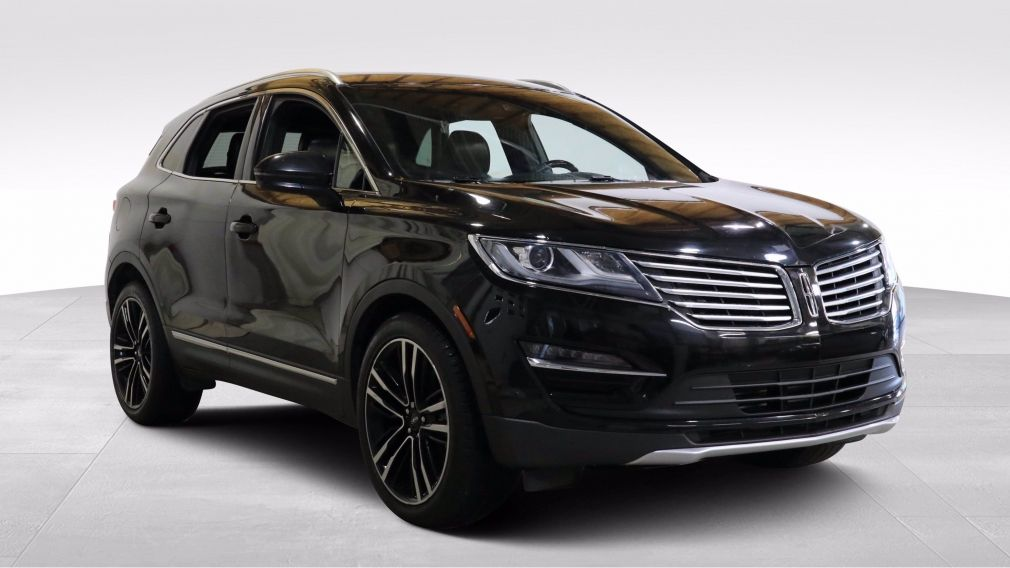 2017 Lincoln MKC Reserve AWD AUTO AC GR ELEC MAGS TOIT CUIR #