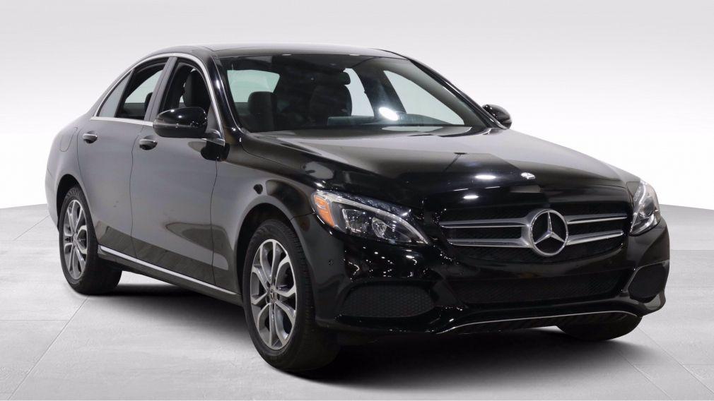2017 Mercedes Benz C300 C 300 AUTO A/C GR ELECT CUIR TOIT NAVIGATION CAMER #