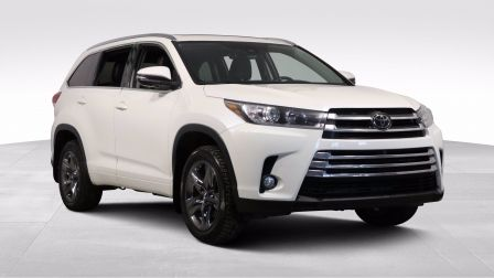 2017 Toyota Highlander Limited AWD CUIR TOIT PANO GR ELECT CAM RECUL BLUE
