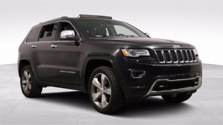 2015 Jeep Grand Cherokee OVERLAND 4X4 A/C CUIR TOIT PANO NAV MAGS                    à Longueuil