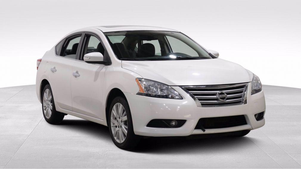 2015 Nissan Sentra SL AUTO A/C GR ELECT CUIR TOIT  NAVIGATION CAMERA #