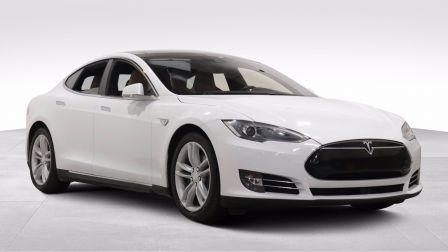 2015 Tesla Model S 85D GR ELECT A/C CUIR TOIT NAVIGATION CAMERA BLUET                    à Drummondville