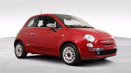 2013 Fiat 500 Lounge AUTO CUIR TOit MAGS A/C GR ELECT BLUETOOTH