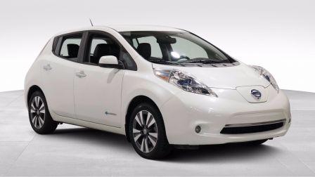2015 Nissan Leaf S AUTO A/C GR ELECT MAGS CUIR NAVIGATION CAMERA BL                    à Longueuil