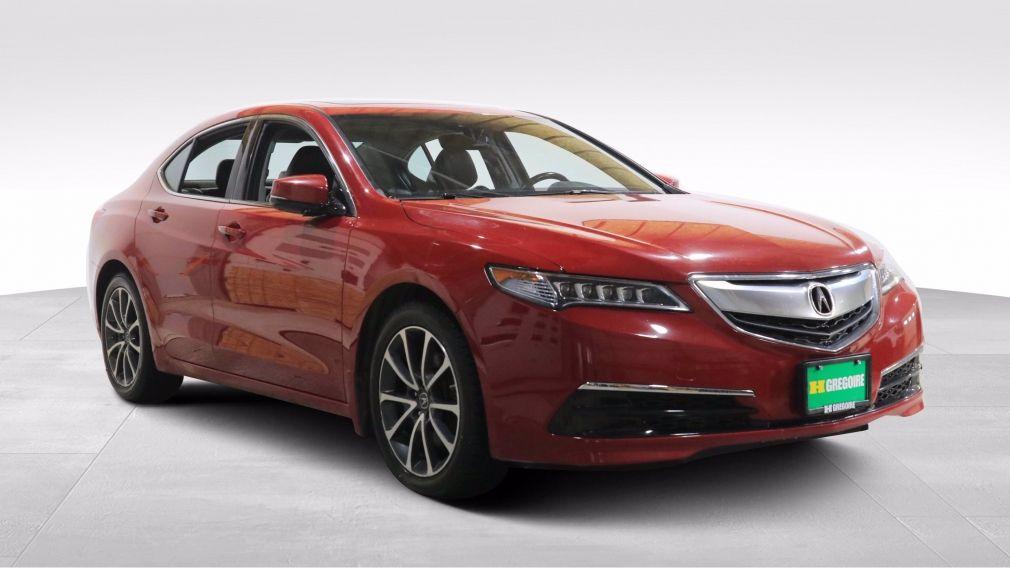 2017 Acura TLX V6 TECH AWD A/C CUIR TOIT NAV MAGS CAM RECUL #