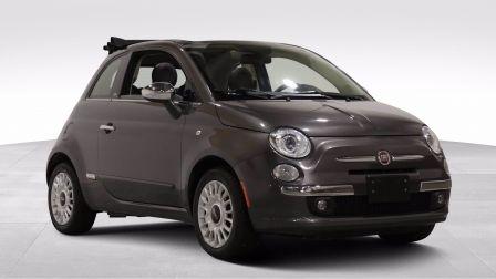 2015 Fiat 500c Lounge AUTO A/C MAGS CUIR TOIT MOU CONVERTIBLE BLU                    à Repentigny