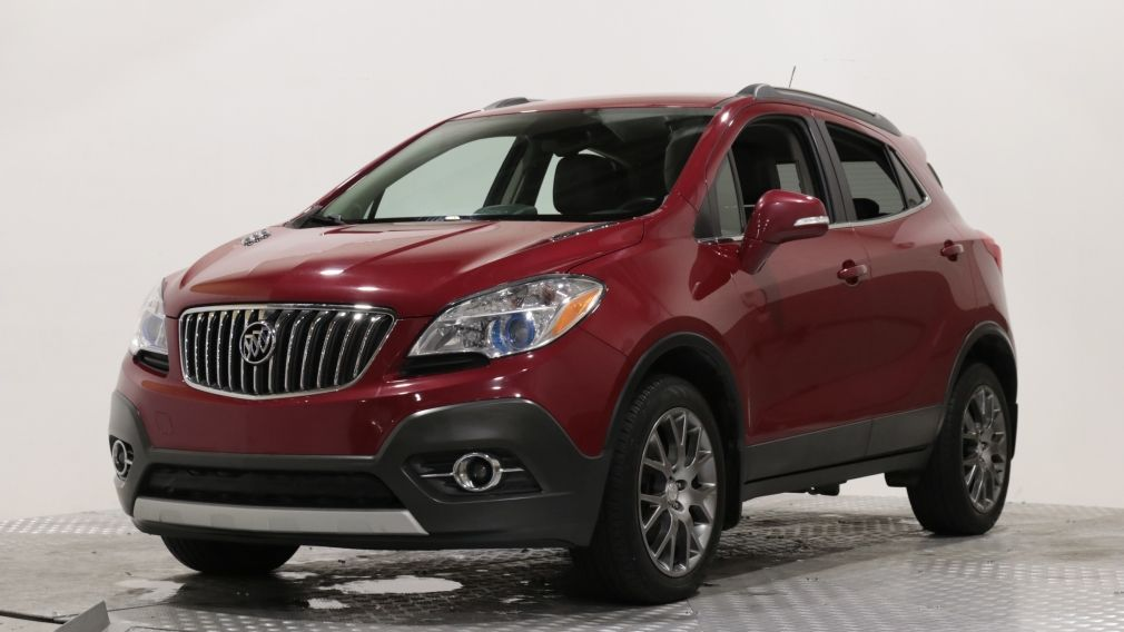 2016 Buick Encore SPORT TOURING AWD A/C CUIR MAGS CAM RECUL #
