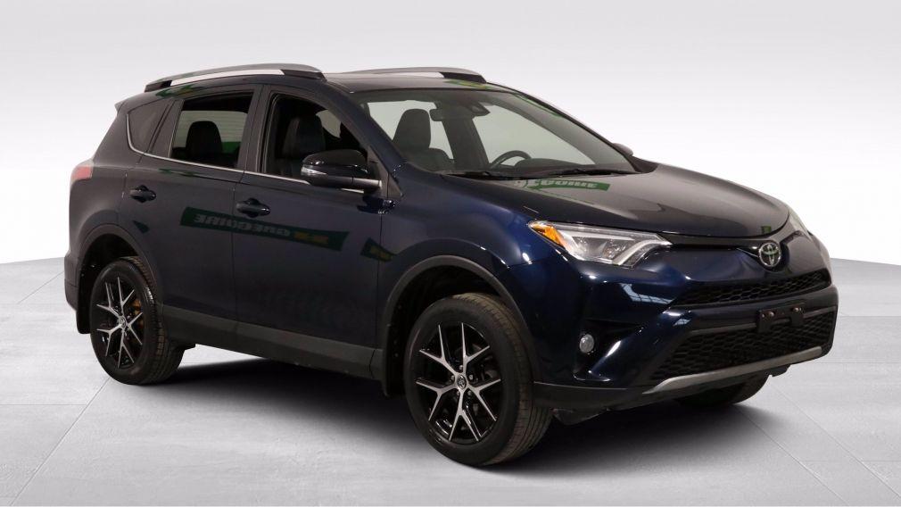 2017 Toyota Rav 4 SE AUTO A/C CUIR TOIT NAV MAGS CAM RECUL BLUETOOTH #