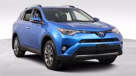 2017 Toyota RAV4 Hybrid LIMITED AWD A/C CUIR TOIT NAV MAGS CAM RECUL                    à Drummondville