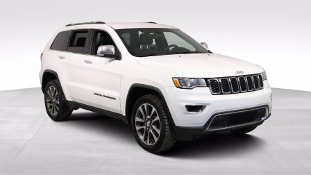 2018 Jeep Grand Cherokee LIMITED AWD A/C CUIR MAGS CAM RECUL BLUETOOTH                    à Drummondville