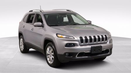 2017 Jeep Cherokee LIMITED 4WD GR ELECT CUIR MAGS CAM RECUL BLUETOOTH                    à Vaudreuil