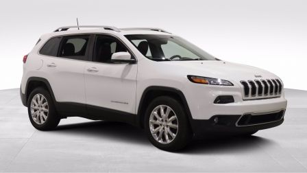 2017 Jeep Cherokee Limited A/C GR ELECT MAGS CUIR TOIT CAMERA BLUETOO                    à Longueuil