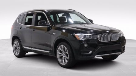 2017 BMW X3 xDrive28i A/C GR ELECT MAGS CUIR CAMERA BLUETOOTH                    à Longueuil