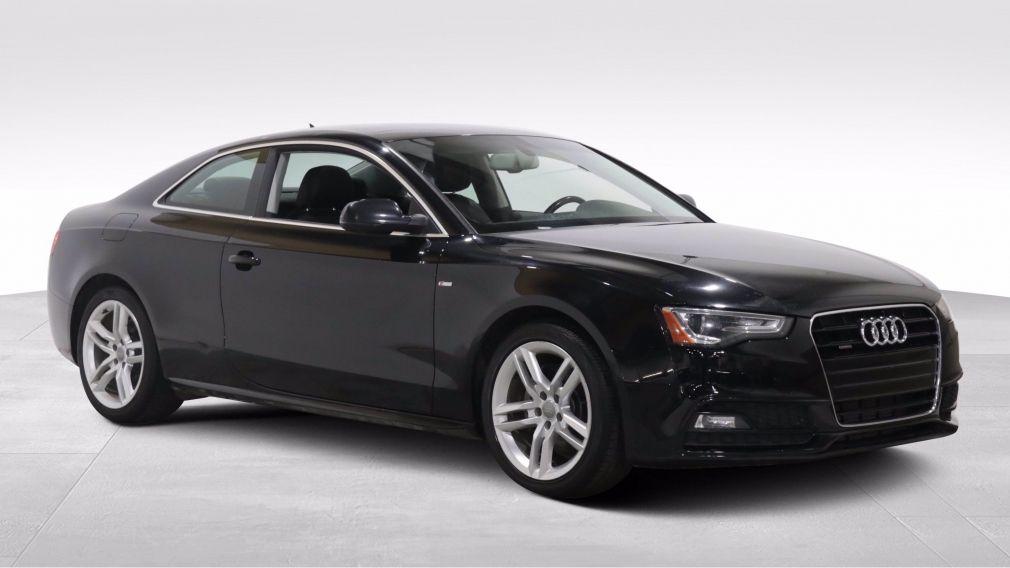 2017 Audi A5 TECHNIK QUATTRO A/C CUIR TOIT NAV MAGS CAM RECUL #