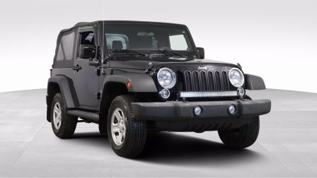 2014 Jeep Wrangler SPORT 4X4                    à Drummondville