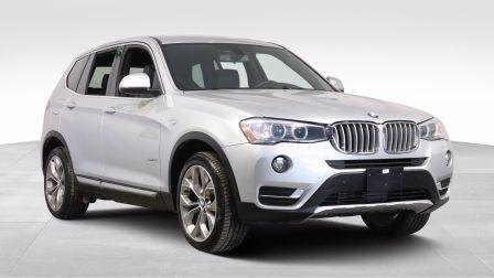 2017 BMW X3 XDRIVE28i A/C CUIR TOIT PANO NAV MAGS CAM RECUL                    à Montréal