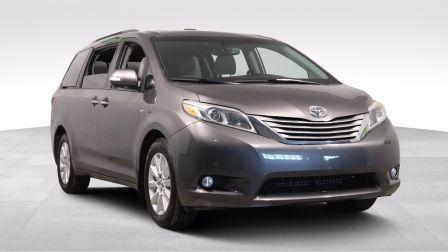 2017 Toyota Sienna XLE AWD 7 PASS DVD CUIR TOIT NAV MAGS CAM RECUL