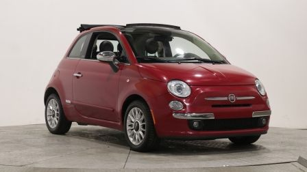 2014 Fiat 500c LOUNGE CONVERIBLE AUTO A/C CUIR MAGS BLUETOOTH