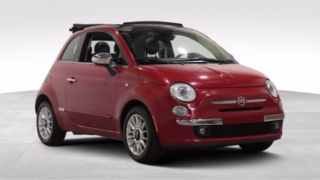 2014 Fiat 500c LOUNGE CONVERIBLE AUTO A/C CUIR MAGS BLUETOOTH                    à Repentigny