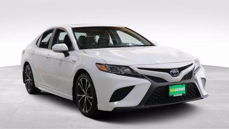 2018 Toyota Camry HYBRIDE SE AUTO A/C GR ÉLECT CUIR TOIT MAGS CAMERA                    à Sherbrooke