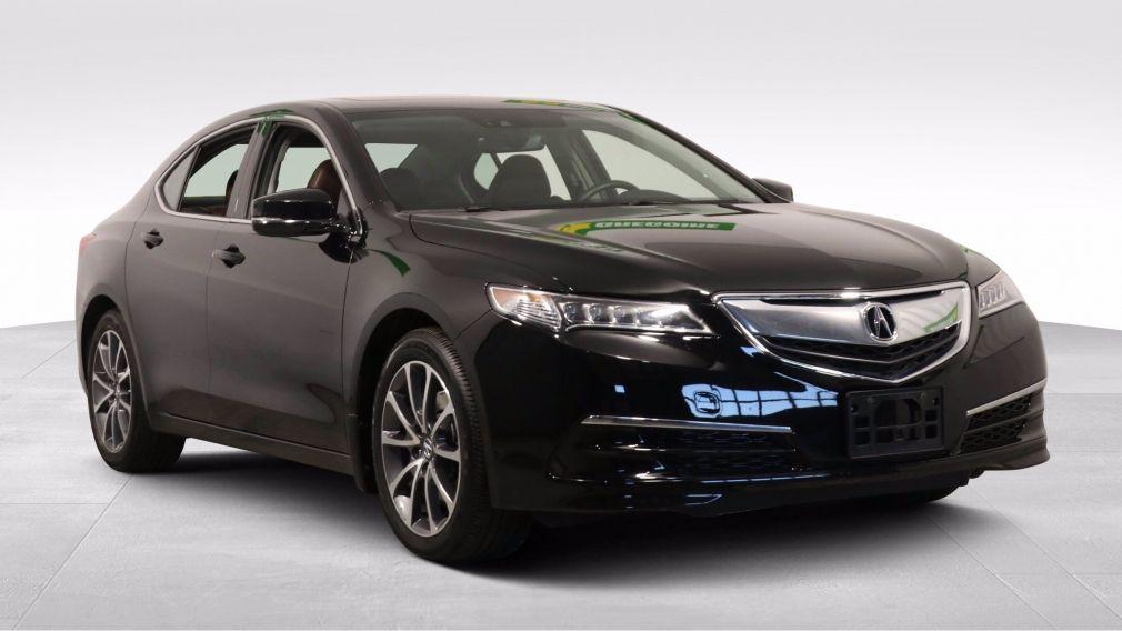 2017 Acura TLX V6 TECH SH-AWD A/C CUIR TOIT NAV MAGS CAM RECUL #
