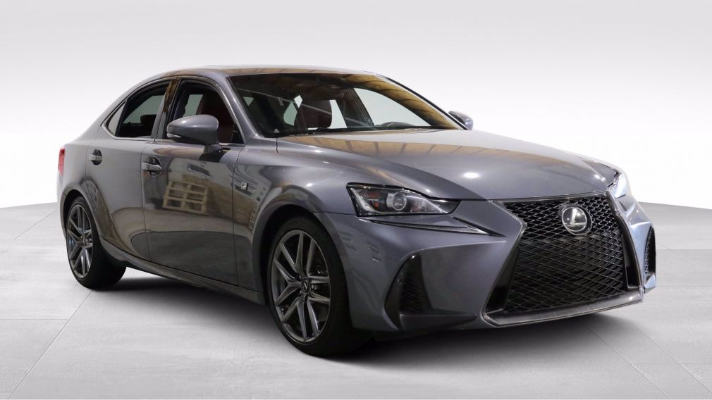 2017 Lexus IS 350 4dr Sdn AWD AUTO AC GR ELECT CAMERA RECUL MAGS BLU #