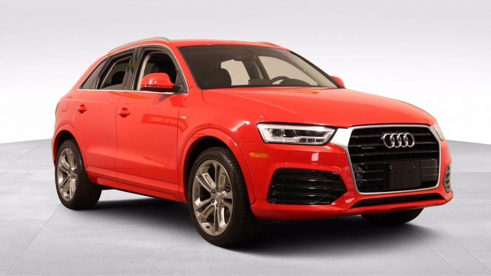 2017 Audi Q3 TECHNIK AUTO A/C TOIT MAGS CAM RECULE BLUETOOTH #