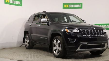 2015 Jeep Grand Cherokee LIMITED AUTO A/C CUIR TOIT NAV MAGS CAM RECUL                    à Repentigny