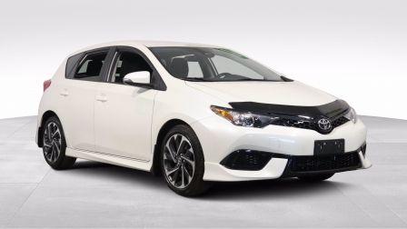 2018 Toyota Corolla iM CVT A/C GR ELECT MAGS CAM RECULE BLUETOOTH