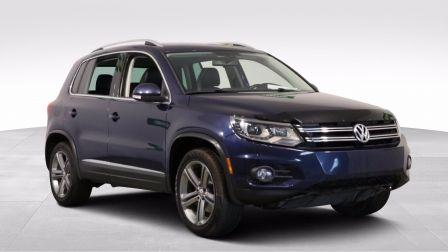 2017 Volkswagen Tiguan HIGHLINE AWD A/C GR ÉLECT CUIR TOIT PANO MAGS CAM                    à Drummondville