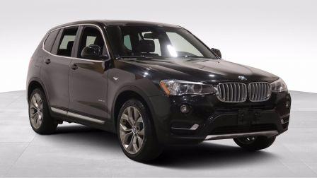 2017 BMW X3 xDrive28i A/C CUIR TOIT NAVIGATION GR ELECT MAGS C                    à Sherbrooke