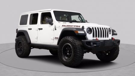 2018 Jeep Wrangler Unlimited RUBICON AWD A/C CUIR TOIT MAGS CAM BLUETOOTH                    à Saguenay