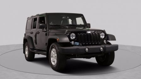 2016 Jeep Wrangler Unlimited SPORT AWD AUTO A/C GR ELECT MAGS BLUETOOTH