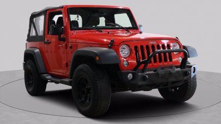 2018 Jeep Wrangler Sport JK AUTO CRUISE TOIT MOU MAGS