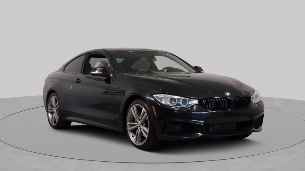 2015 BMW 435I XDRIVE AUTO A/C CUIR TOIT MAGS CAM RECUL BLUETOOTH #