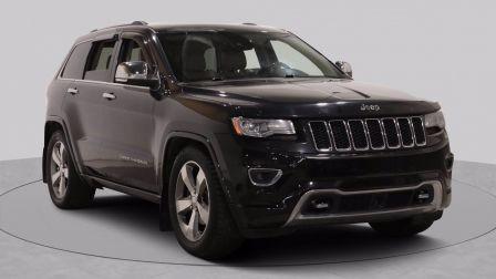 2014 Jeep Grand Cherokee Overland AWD AUTO A/C GR ELECT MAGS CUIR TOIT CAME                    à Montréal