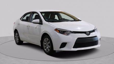 2014 Toyota Corolla LE AUTO A/C GR ELECT CAMERA RECUL BLUETOOTH                    à Drummondville